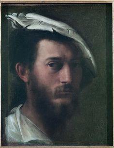 Francesco Primaticcio - Self Portrait, 1525/30