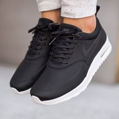 "Air Max Thea Premium ""Black/Wolf Grey""  Would you #cop or #drop em ?  Tag #Locokickz for your chance to feature on the feed !  Follow us on twitter: @locokickz"