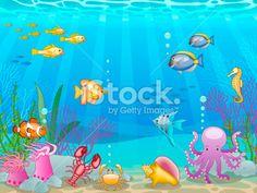 Ocean Scene Coloring Pages | underwater - allphotos3 - Bloguez.com