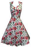 H & R Hibiscus Dress