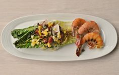 Grilled Romaine with Preserved Lemon, Salt Capers & Bacon - AIP Lifestlye