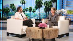 The Incomparable Joaquin Phoenix  in BED with Jimmy Kimmel - eingeschlafen bei Ellen deGeneres