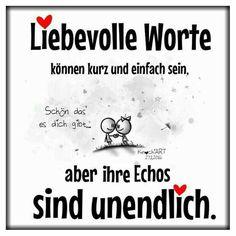...Liebevolle Worte.....!!!❤❤❤