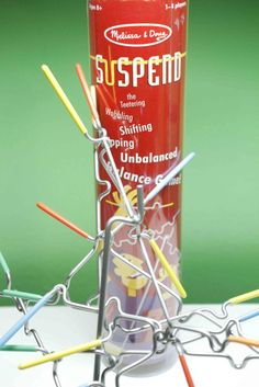 If you family loves a good laugh during family game night, check out Suspend. A fun game by Melissa and Doug