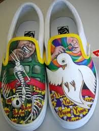 601f452be5 Image result for vans custom culture contest Painted Vans