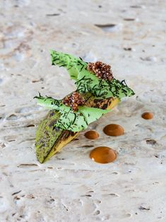 Palta Icchu y Cañihua | Icchu Avocado and Cañihua (closely related to quinoa) by chef Virgilio Martinez. © Central - See more at: http://theartofplating.com/editorial/virgilio-martinez-on-rediscovering-the-essence-of-peruvian-cuisine/#sthash.6NZWlA0t.dpuf