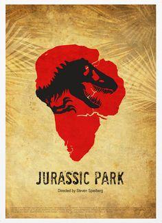 Jurassic Park Poster. $18.00, via Etsy.