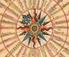 Your virtual eye on illuminated manuscripts, rare books, and the stories behind them. By Franco Cosimo Panini Editore. Medieval Manuscript, Illuminated Manuscript, Sailing Books, Cardinal Directions, Architecture Mapping, Compass Rose, Old Art, Patches, The Incredibles