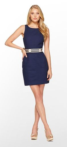 Lilly Pulitzer Summer '13- Kirkland Dress obsessed with my new classic navy dress