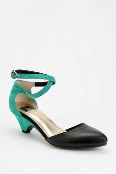 BC Footwear Burn Bright Kitten Heel #urbanoutfitters