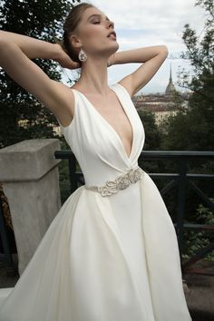 Wedding Dress Nicole - Collection ALESSANDRARINAUDO TECLA ARAB16631 2016