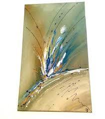 Résultats de recherche d'images pour « toile abstraite modèle bleu en dégradé »