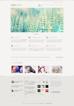 GoodMinimal Responsive WordPress by weblion on @creativemarket