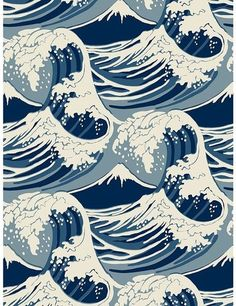 Cole & Son Wave Wallpaper