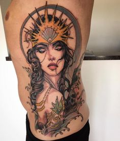 wolf sleeve by Jeff Norton : Tattoos Mermaid Sleeve Tattoos, Tattoo Sleeve Designs, Cute Tattoos, Beautiful Tattoos, See Tattoo, Sunflower Tattoo Shoulder, Neo Traditional Tattoo, Woman Face, Tattoos For Women