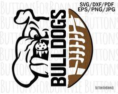Georgia SVG /& Studio 3 Cut File Cutouts Files Logo Stencil for Silhouette Cricut Decals SVGS Decal Team Sports Bull dog Football U Bulldogs