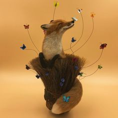 16 Adorable Animals on the Tip of a Brush, or An Idea for Felting from Simon Brown – Livemaster