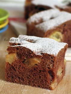 Sweets Recipes, Cooking Recipes, Breakfast Menu, Polish Recipes, Chocolate Cake, Banana Bread, Recipies, Good Food, Baking