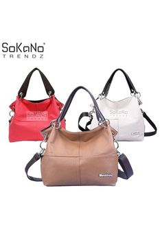 Buy SoKaNo Trendz 12007 PU Leather Tote Bag- Brown online at Lazada. Discount prices and promotional sale on all. Free Shipping.