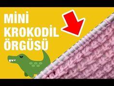 Çok şık ve kolay yapılabilen mini krokodil örgü modeli - Örgü Modelleri - YouTube