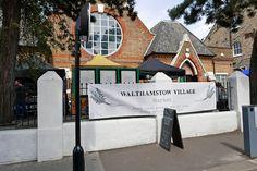 Walthamstow village, East London