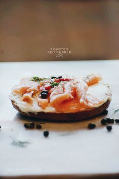 Lox; ROASTED RED PEP