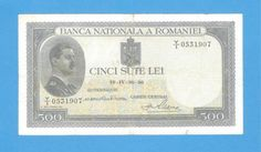 Romania-500-Lei-1936-Paper-Money-Rare-Authentic