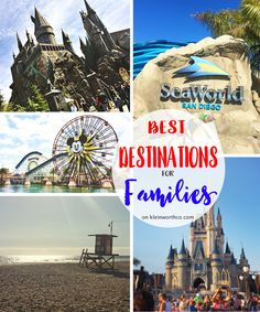 Looking to plan your travel for the coming year? You don't want to miss these Best Destinations for Families with kids of all ages.  via @KleinworthCo