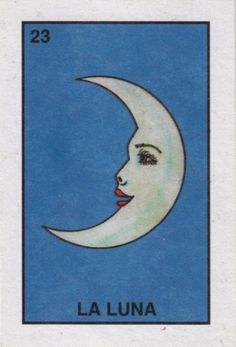 the moon is trumps XVIII of the major arcana. it is typically interpreted as being a more negative card; its reading reveals a difficult emotional time, disruption in sleeping patterns, a clouding of the imagination, confusion, disruption, apprehension and unrealistic ideas. the simplicity of this deck is attractive, i don't know which deck it is though.