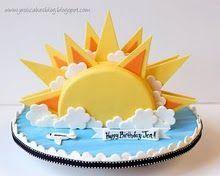 71 best bday images sun cake sunshine cake anna cake