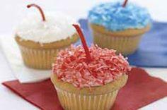 Firecracker Cupcakes  Recipe