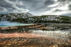Grand Prismatic Spring, Yellowstone NP. My Style, Spring