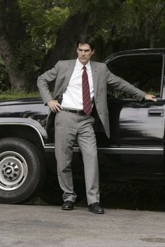 Photo of Thomas Gibson  - car