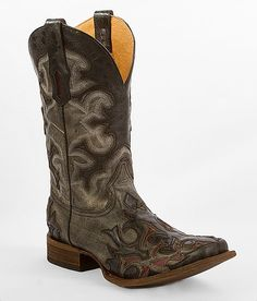 """Corral Cut-Out Cowboy Boot"" www.buckle.com"