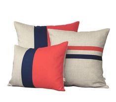 Love these pillows for master bedroom. Very cute but need different colors.