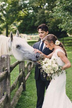 Vintage french-inspired real wedding by Lauren Fair Photography + BeLovely Floral & Event Design   littlewhitebook.com