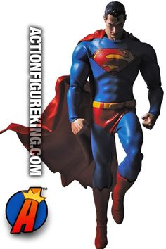 Sixth-Scale #SUPERMAN #ActionFigure based on the #Batman Hush comic book. See more collectibles here… http://actionfigureking.com/list-3/medicom2/real-action-heroes-from-medicom/marvel-comics-real-action-heroes-from-medicom/batman-hush-real-action-heroes-superman-figure-from-medicom