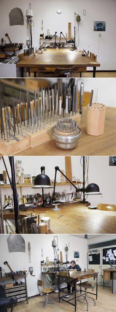 Goldsmith Ralph Bakker's Atelier http://www.ralphbakker.nl/web/atelier.php