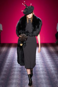Schiaparelli Fall 2014 Couture Fashion Show - Monika Jablonczky (WOMEN)