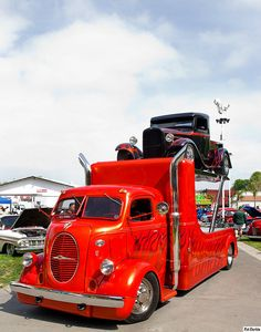1939 Ford COE Vehicle transporter