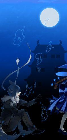 Wadanohara and The Great Blue Sea Fanart Wadanohara and Samekichi