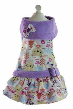 Modelo Ositos lindo vestido para perritas coquetas.  ropa y accesorios para perros. Accesorios para mascotas con estilo. Designer dog clothes. Accessories for Pets. www.toutmignon.net