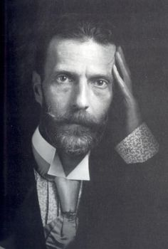 His Imperial Highness Grand Duke Sergei Alexandrovich of Russia (1857-1905)(He has such a haughted look to his face- an foresight into the Revolution?)