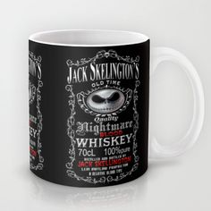 Halloween Parody Nightmare Blood Whiskey iPhone 4 4s 5 5s 5c, ipod, ipad, pillow case and tshirt Mug