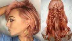 """Vocês já ouviram falar no ruivo Blorange? A cor - um loiro claro acobreado com fundo rosa - já é considerada a maior """"febre"""" em termos de coloração em 2017 - e o olha que o ano TÁ SÓ NO INÍCIO, hein? Quer saber como chegar nesse tom? Clica aqui: http://www.makecoisaetal.com.br/noticia/542  #blorange #ruivo #cabeloruivo"""