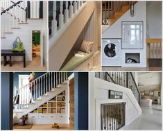 Cleverly Utilize The Space Under The Stairs 1