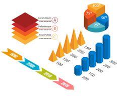 Illustrator Tutorial: How to Create Isometric Vector Infographic Elements | vectips.com