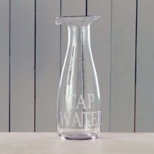 Tap water decanter