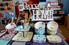 So many beautiful items to choose from! Visit Plowshare for even more!