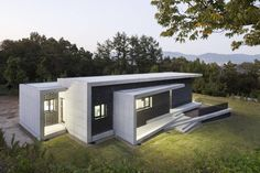 Gutters and Downspouts : House in Gyopyeong-Ri : 모던스타일 주택 by studio origin